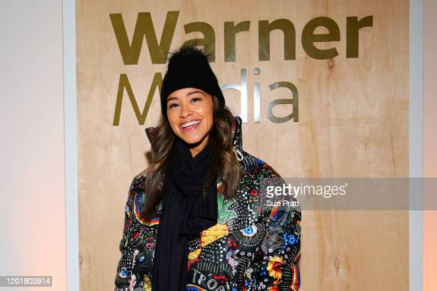 Gina Rodriguez attends the WarnerMedia and AT&T Sundance Kick-Off Party at Lateral on January 24, 2020 in Park City, Utah. 731296