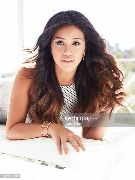 Gina Rodriguez is photographed for Latina Magazine on October 4 2014 in Los Angeles California