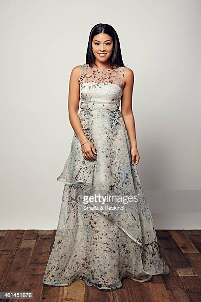 Gina Rodriguez poses during the The 41st Annual People's Choice Awards at Nokia Theatre LA Live on January 7 2015 in Los Angeles California