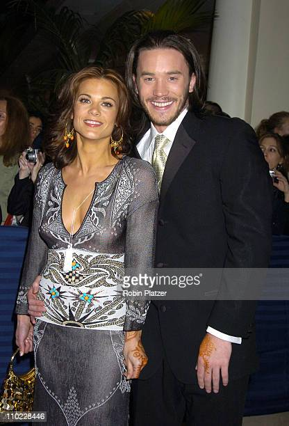Gina Tognoni and Tom Pelphrey during 32nd Annual Daytime Emmy Awards Outside Arrivals at Radio City Music Hall in New York City New York United States