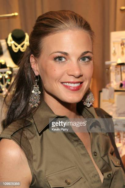 Gina Tognoni during 33rd Annual Daytime Emmy Awards Gift Suite Day 1 in Los Angeles California United States