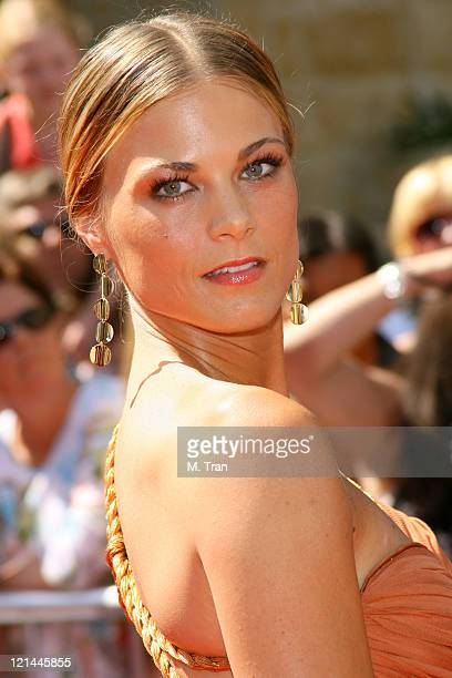 Gina Tognoni during 34th Annual Daytime Emmy Awards Arrivals at Kodak Theatre in Hollywood California United States