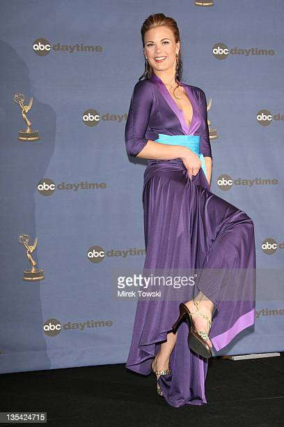 Gina Tognoni during The 33rd Annual Daytime Emmy Awards Press Room at Hollywood Kodak Theater in Hollywood California United States
