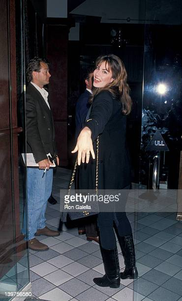 Gina Tolleson attending Birthday Party for Nikki Haskell on May 18 1994 at Tattoo Club in Beverly Hills California
