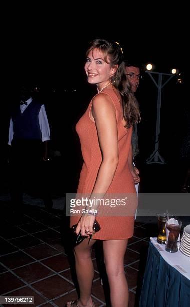 Gina Tolleson attending Dunn's River Celebrity Sports Invitational on September 29 1993 at Sandal's Resort in Dunn's River Jamaica