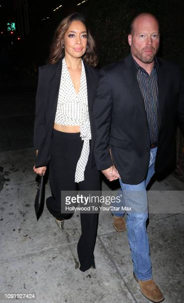 kevin wright gina torres kevin wright stock photos and pictures getty images 1790