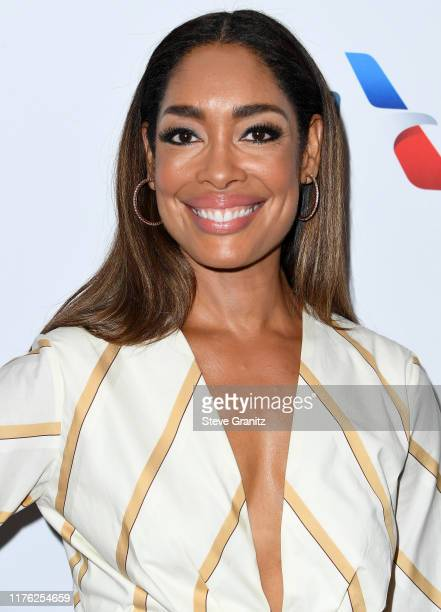 Gina Torres arrives at the BAFTA Los Angeles BBC America TV Tea Party 2019 at The Beverly Hilton Hotel on September 21 2019 in Beverly Hills...