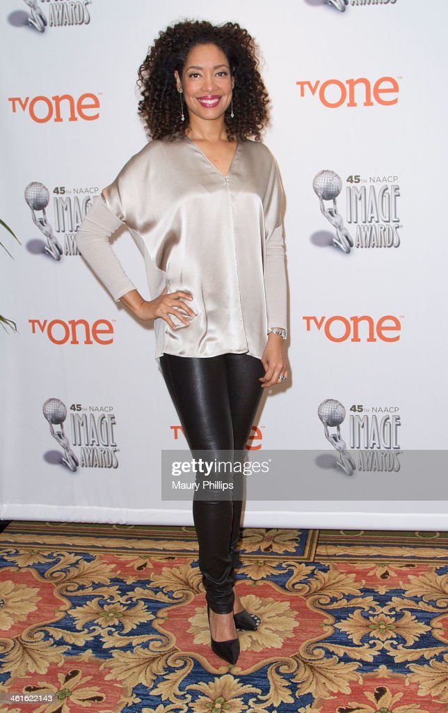 Gina Torres attends the 45th NAACP Image Awards Nominations Announcement at the Langham Hotel on January 9, 2014 in Pasadena, California.
