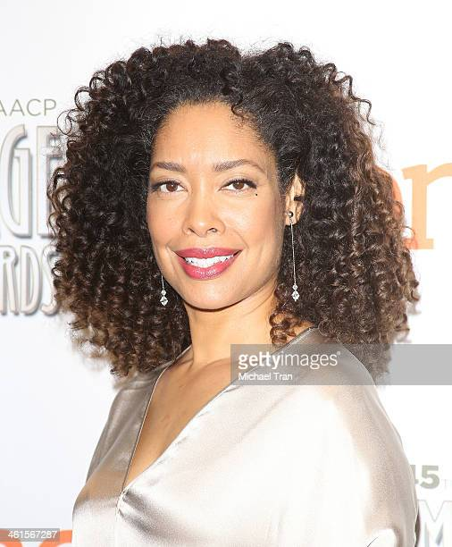 Gina Torres attends the 45th NAACP Image Awards nominations announcement held at Langham Hotel on January 9, 2014 in Pasadena, California.