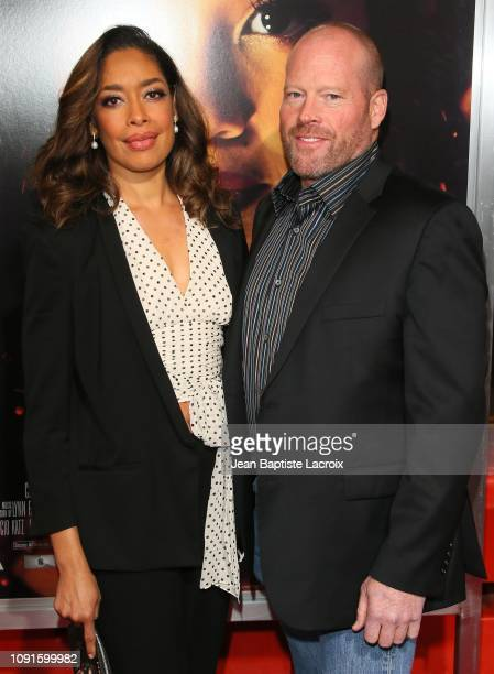 kevin wright gina torres gina torres stock photos and pictures getty images 4616
