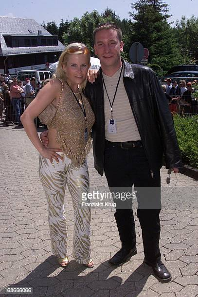 Gina Wild and Husband Axel Schaffrath At The Formula 1 Nürburgring