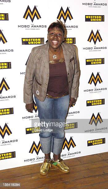 Gina Yershan during 2006 MOBO Awards Nominations Outside Arrivals at Proud Gallery in London Great Britain