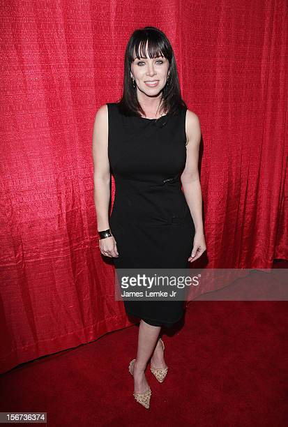 Gina_Raye Carter attends the Jackson Limousine Homeless Turkey Drive Red Carpet Gala held at Infusion Lounge on November 19 2012 in Universal City...