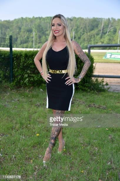 Gina-Lisa Lohfink attends the Bild Race Day on May 1, 2019 in Gelsenkirchen, Germany.