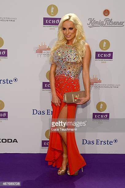 GinaLisa Lohfink attends the Echo Award 2015 Red Carpet Arrivals on March 26 2015 in Berlin Germany