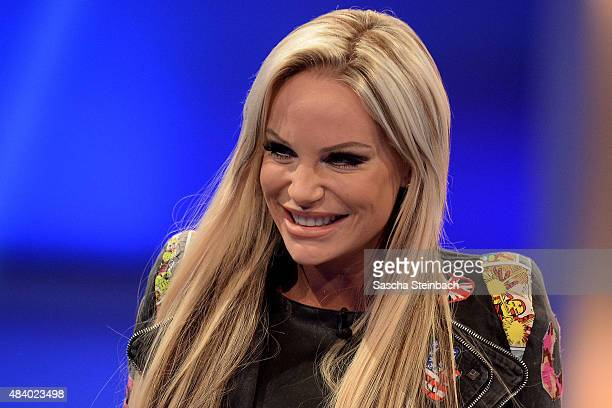 GinaLisa Lohfink attends the first live show of Promi Big Brother 2015 at MMC studios on August 14 2015 in Cologne Germany