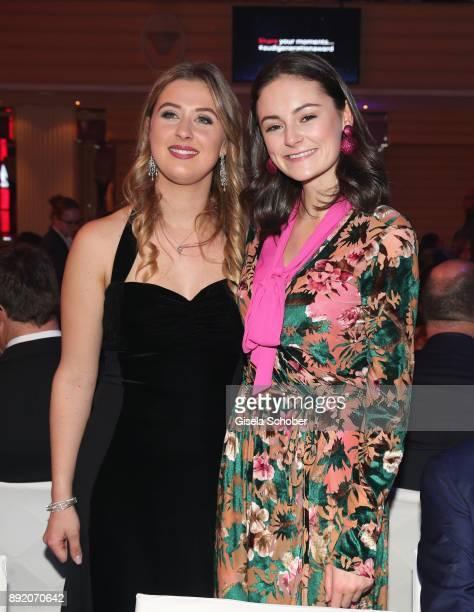 GinaMaria Schumacher daughter of of Michael Schumacher and Lea van Acken during the Audi Generation Award 2017 at Hotel Bayerischer Hof on December...