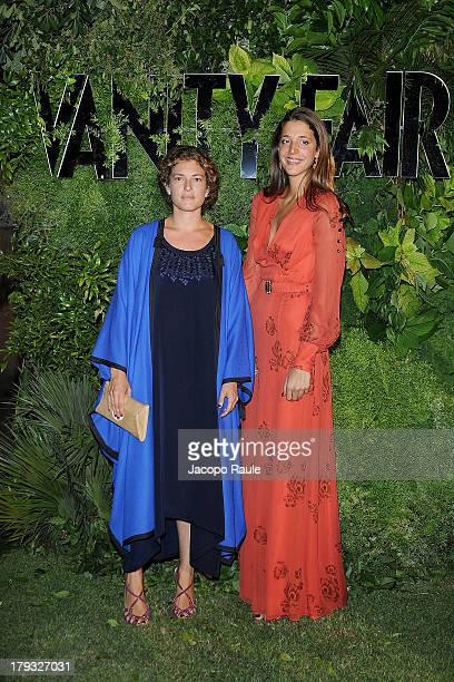 Ginevra Elkann and Anna De Pahlen attend Vanity Fair Celebrate 10th Anniversary during the 70th Venice International Film Festival at Fondazione...