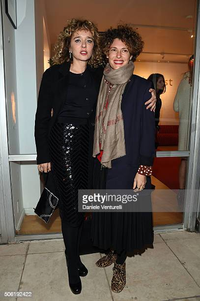 Ginevra Elkann and Ginevra Elkann attend Cocktail Party Celebrating 1th Taormina Film Fest Los Angeles 2016 at Italian Cultural Institute Of Los...
