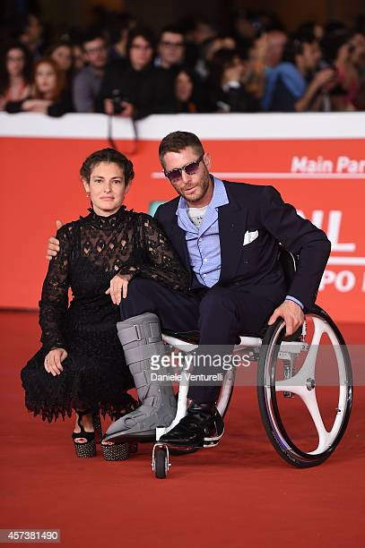 Ginevra Elkann and Lapo Elkann attend the 'Still Alice' Red Carpet during the 9th Rome Film Festival on October 17 2014 in Rome Italy