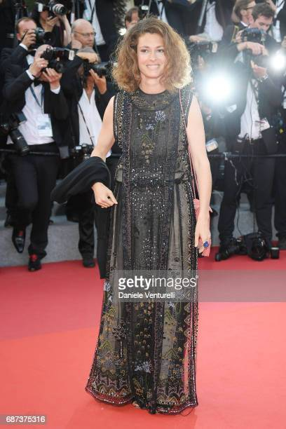 Ginevra Elkann attends the 70th Anniversary screening during the 70th annual Cannes Film Festival at Palais des Festivals on May 23 2017 in Cannes...