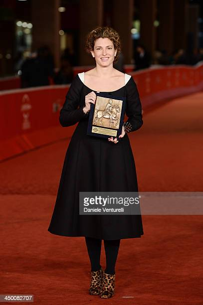 Ginevra Elkann attends the Award Winners Photocall during The 8th Rome Film Festival on November 16 2013 in Rome Italy