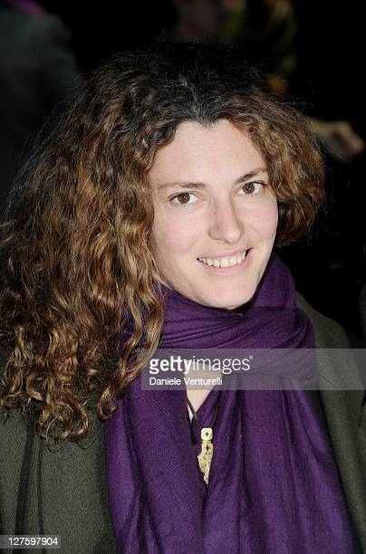 Ginevra Elkann attends the Gucci Autumn/Winter 2011 fashion show as part of the Womenswear Milan Fashion Week on February 23 2011 in Milan Italy