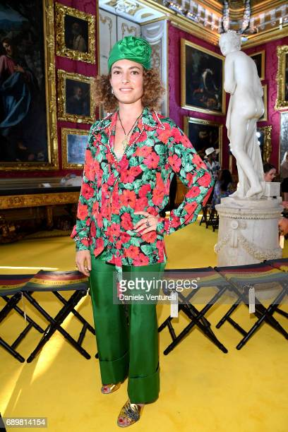 01c6df0138d Ginevra Elkann attends the Gucci Cruise 2018 fashion show at Palazzo Pitti  on May 29 2017