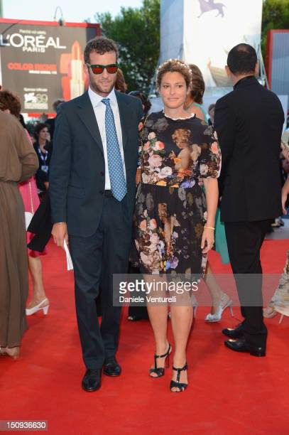 Ginevra Elkann; Giovanni Gaetani dell'Aquila d'Aragona attends The Reluctant Fundamentalist premiere and opening ceremony during the 69th Venice Film...