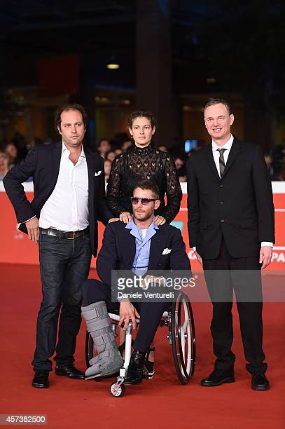 Ginevra Elkann Lapo Elkann Francesco Melzi d'Eril and Wash Westmoreland attend the 'Still Alice' Red Carpet during the 9th Rome Film Festival on...