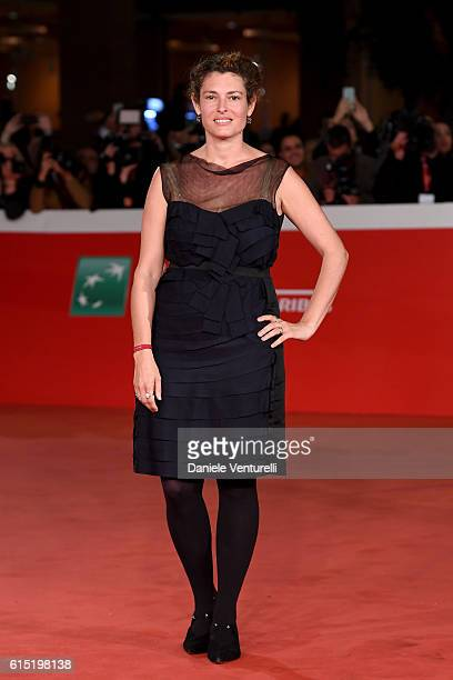 Ginevra Elkann walks a red carpet for 'Captain Fantastic' during the 11th Rome Film Festival at Auditorium Parco Della Musica on October 17 2016 in...