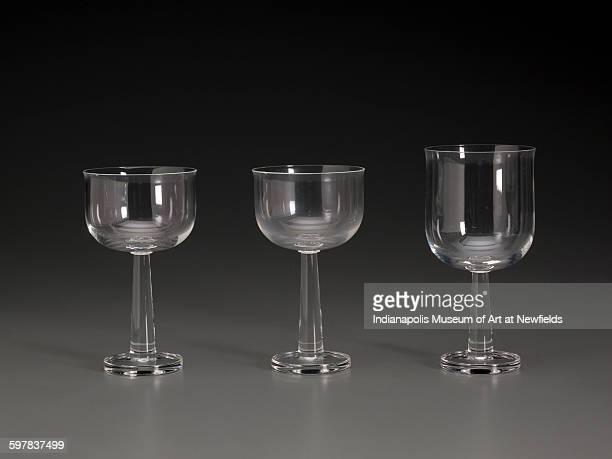 Ginevra goblet by Italian designer Ettore Sottsass 1996 Gift of David A Hanks in honor of Marilynn Johnson