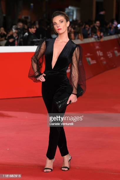 Ginevra Odescalchi attends the Motherless Brooklyn red carpet during the 14th Rome Film Festival on October 17 2019 in Rome Italy