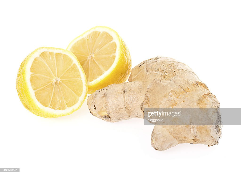 Ginger and Lemon : Stock Photo