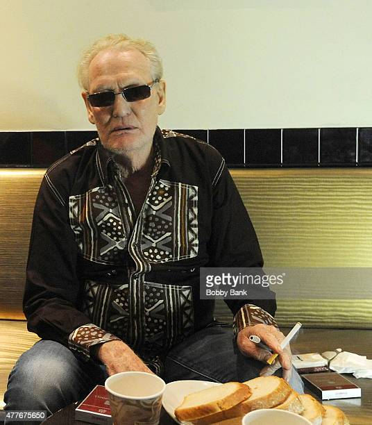 Ginger Baker Performs Jazz Confusion Featuring Pee Wee Ellis, Alec Dankworth & Abass Dodoo at BB King on June 18, 2015 in New York, New York.
