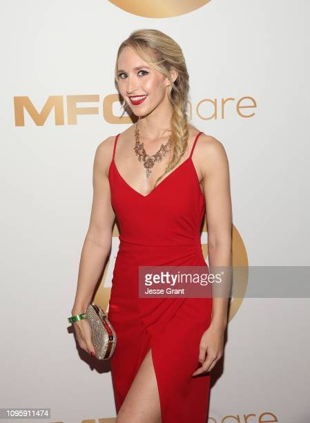 Ginger Banks attends the 2019 XBIZ Awards on January 17 2019 in Los Angeles California