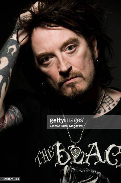 Ginger, best know as the frontman of British rock band The Wildhearts, photographed during a portrait shoot for Classic Rock Magazine/Future via...