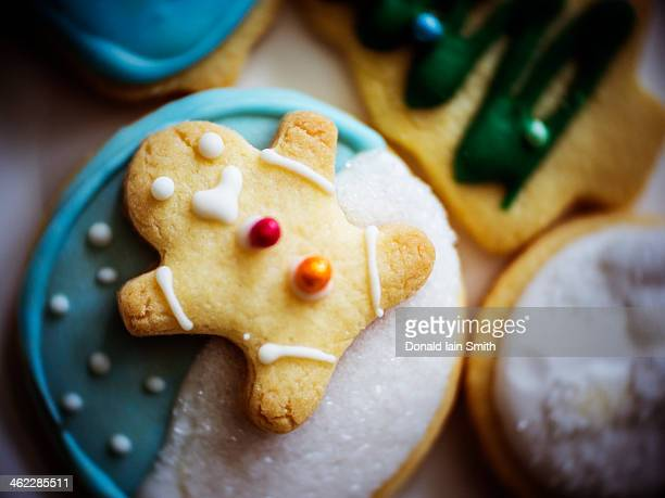 Ginger bread man biscuit