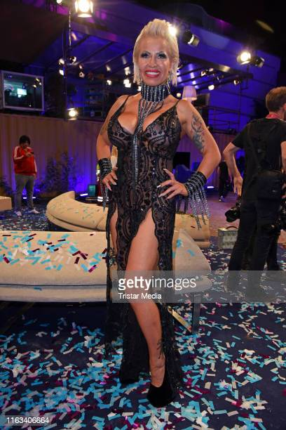 Ginger CostelloWollersheim attends the Promi Big Brother final at MMC Studios on August 23 2019 in Cologne Germany