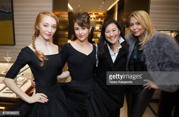 Ginger Dietrich and Andrea Rinaldi attends the City Center Washington Ballet Event at David Yurman on November 17 2017 in Washington DC