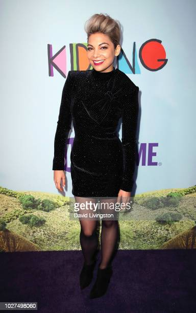 Ginger Gonzaga attends the premiere of Showtime's Kidding at The Cinerama Dome on September 5 2018 in Los Angeles California