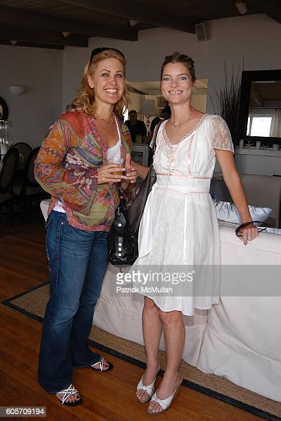 Ginger Gray and Liz Lynn attend Self Magazine Fun In The Sun Event Hosted by Self's August Cover Girl Molly Sims at Polariod Beach House on July 22...