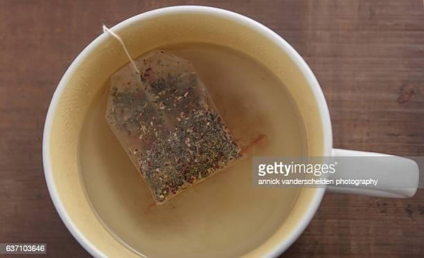 Ginger hibiscus tea.