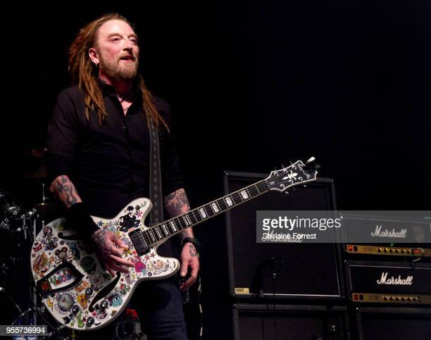 Ginger of The Wildhearts performs live on stage at O2 Academy Manchester on May 4 2018 in Manchester England