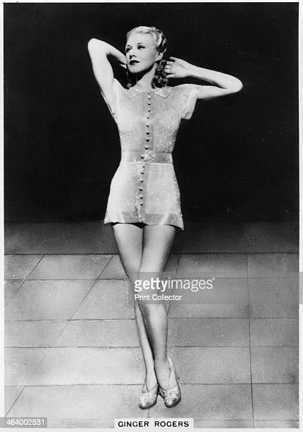 Ginger Rogers American actress dancer and singer c1938 Ginger Rogers appeared in 73 films over a 35 year movie career She is best known for her...