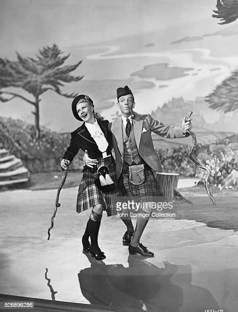 Ginger Rogers and Fred Astaire as Dinah and Josh Barkley in the 1949 musical The Barkleys of Broadway