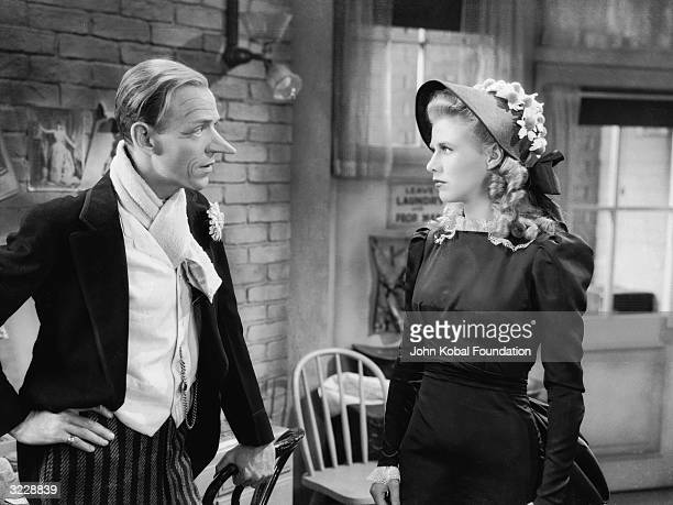 Ginger Rogers and Fred Astaire play a pair of legendary ballroom dancers in 'The Story of Vernon and Irene Castle' directed by H C Potter In this...
