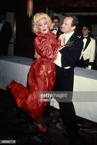 Ginger Rogers and Peter Allen circa 1982 in New York City