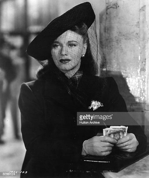 Ginger Rogers in a scene from the film 'The Major And The Minor' directed by Billy Wilder for Paramount