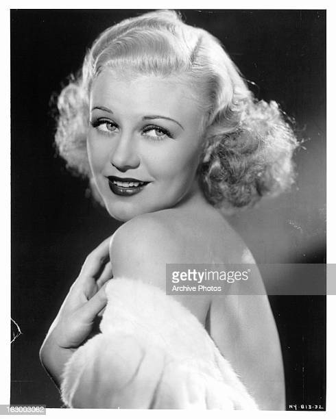 Ginger Rogers in publicity portrait Circa 1935